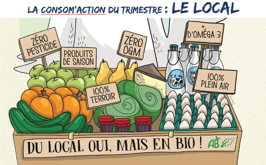 Le local - consomaction du trimestre